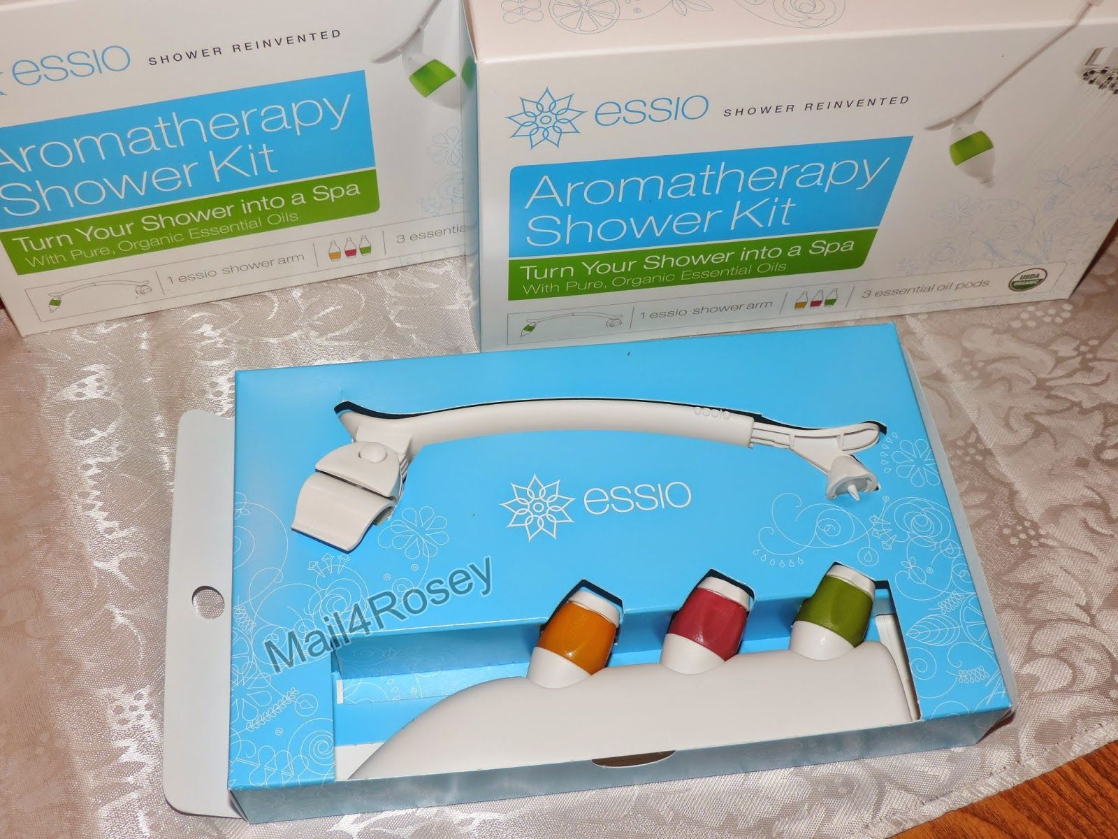 Mail4Rosey: ESSIO Aromatherapy Shower Kit #Giveaway Ends 2/23 US ...