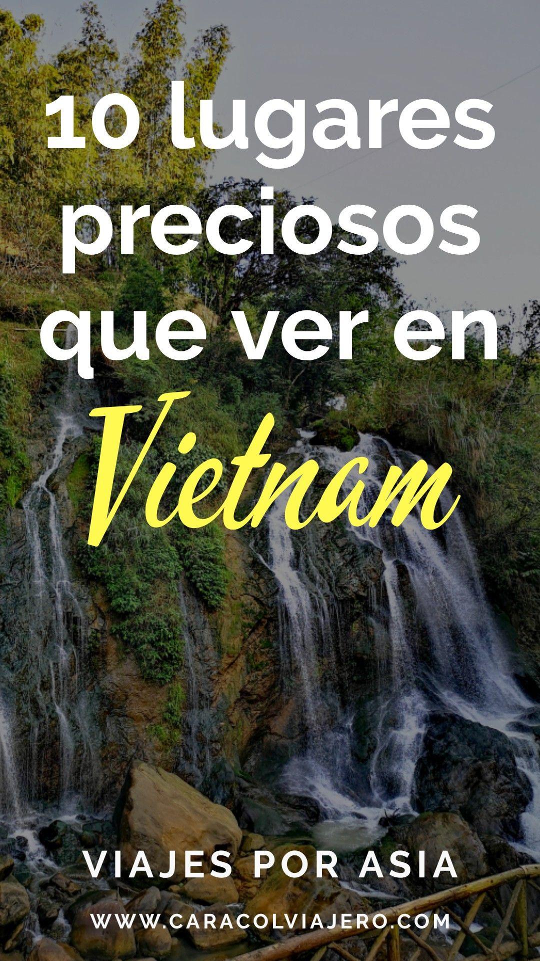10 lugares que visitar en Vietnam