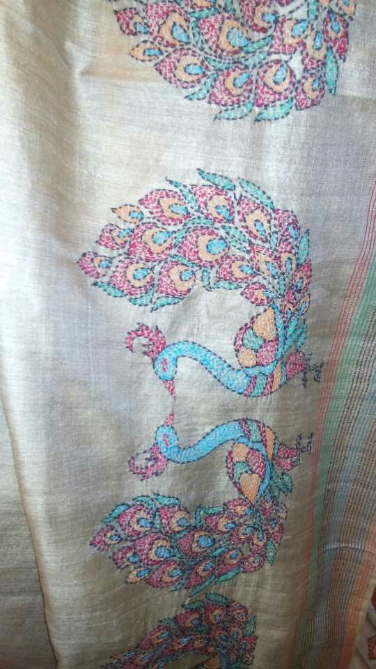 Kantha Embroidery Kantha Work Pinterest Embroidery Hand