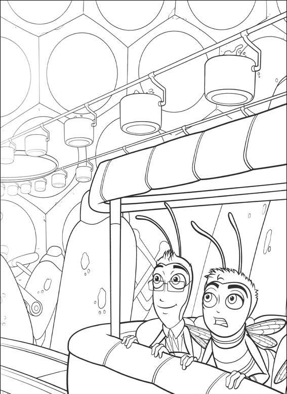 33 Bee Movie Printable Coloring Pages For Kids Find On Book Thousands Of