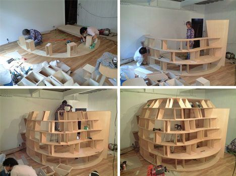 This is not your everyday ordinary and easy do it yourself do it yourself wooden bedroom bookshelves design solutioingenieria Images