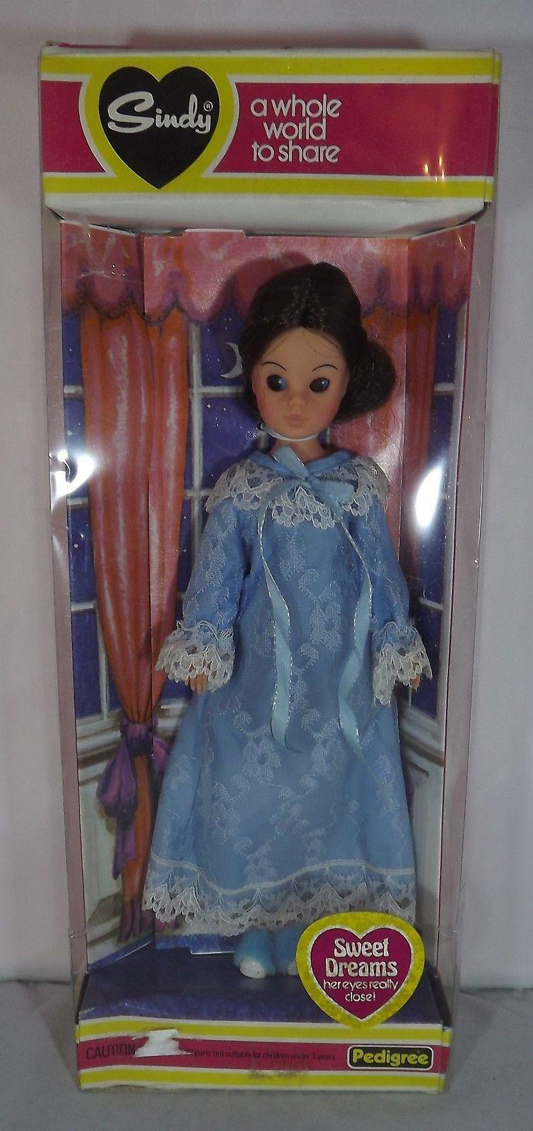 sindy sweet dreams vintage doll 1979