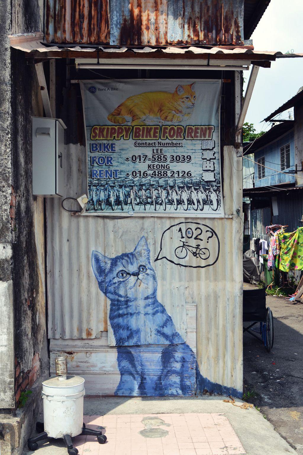 blue cat penang