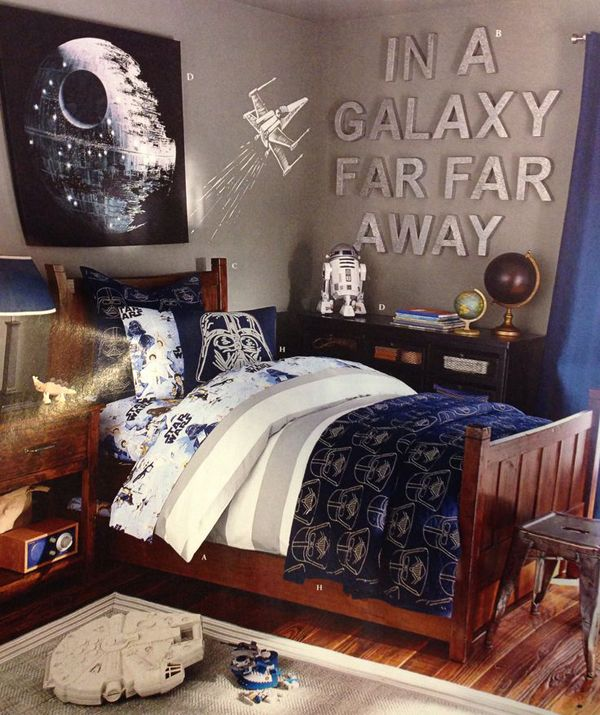 20 Awesome Star Wars Room For Little Boys | Homemydesign ...