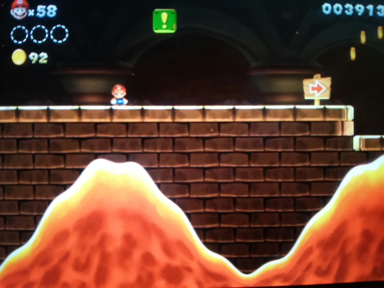 Mario wiiu castle New Super Mario Bros U video games