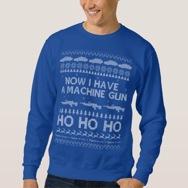 Die Hard Ugly Christmas Sweater Jumper Just A Little Inspiration
