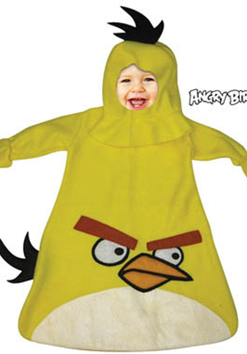 Angry Birds Yellow Bird Infant Costume - Halloween Costumes at Escapade UK - Escapade Fancy Dress  sc 1 st  Pinterest & Angry Birds Yellow Bird Infant Costume - Halloween Costumes at ...