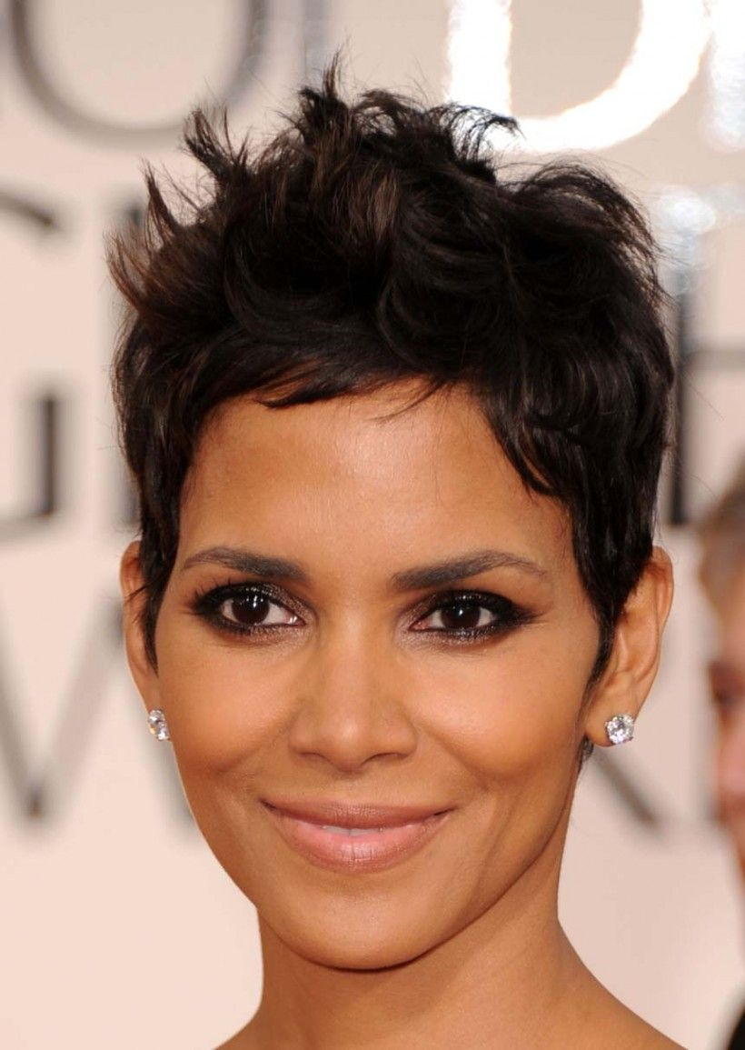 Halle berry has made this spiky style her signature look pixie