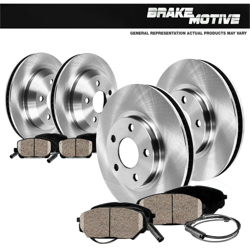 Front+Rear Drill Slot Brake Rotors /& Ceramic Pads For VW Volkswagen CC