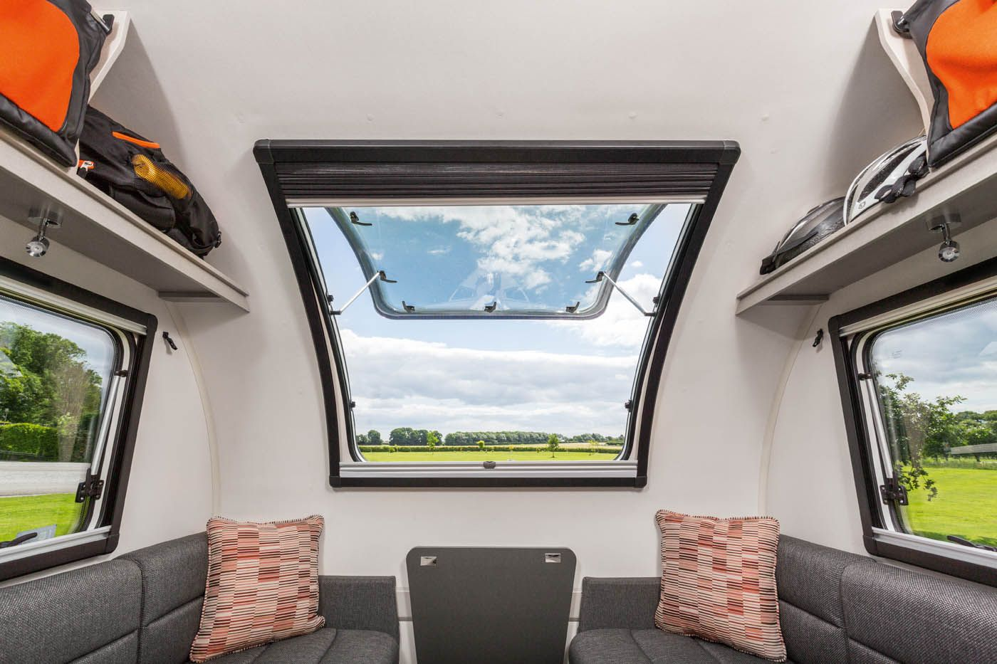 Int Basecamp Panoramic Opening Sunroof Basecamp Caravan Makeover Mobile Living