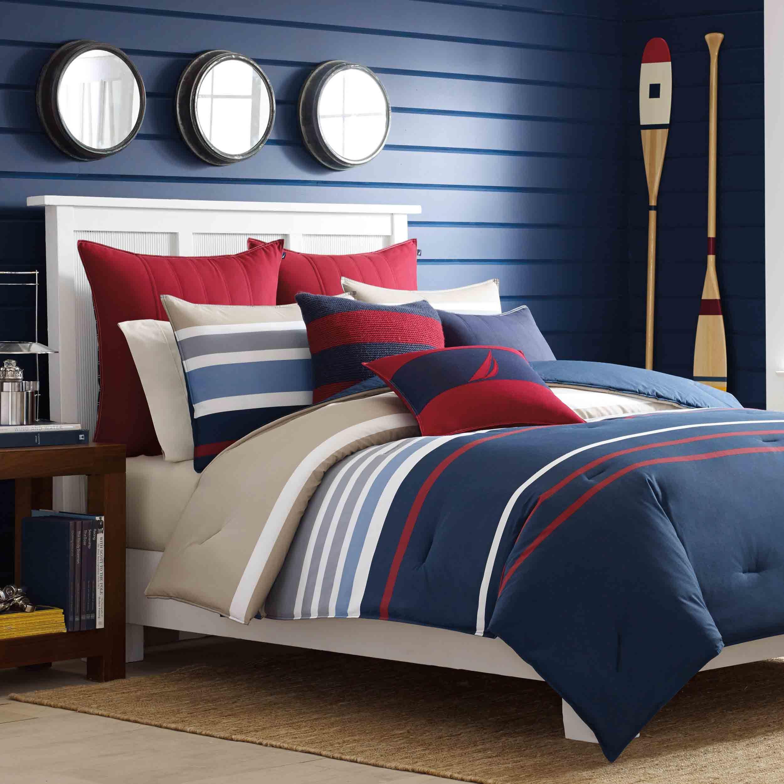 Bradford Reversible Comforter Set by Nautica