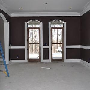 chocolate brown wall paint doors brown walls brown paint rh pinterest ca