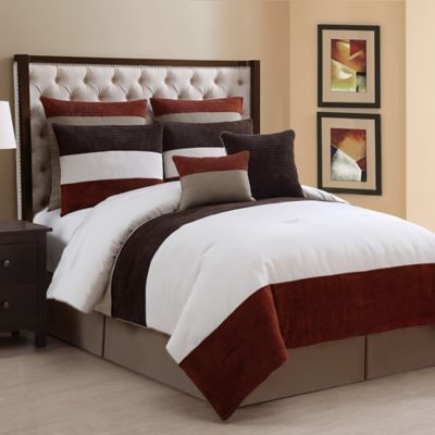 Dakota 8 Piece Comforter Set Bedbathandbeyond Com