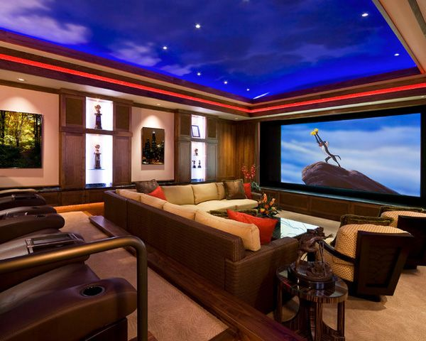 10 images about media room on pinterestbasement designs media room design ideas - Media Room Design Ideas