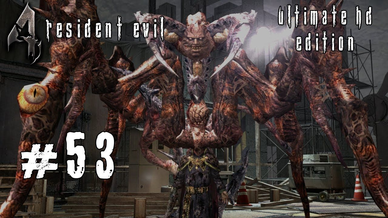 Resident Evil 4 [Ultimate HD Edition] #53 - Finaler Boss: Osmund Saddler - Let's Play