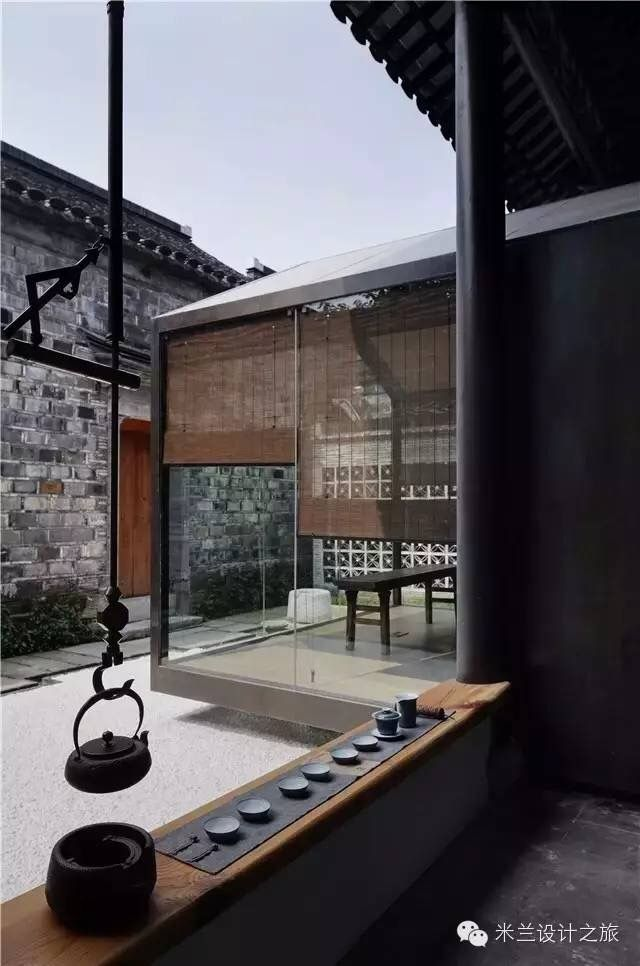 A poetic tearoom beautiful weizhen for Asia garten deko