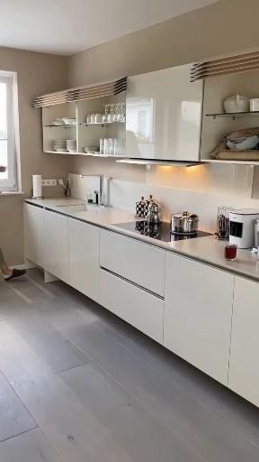 Photo of New kitchen design ❤️