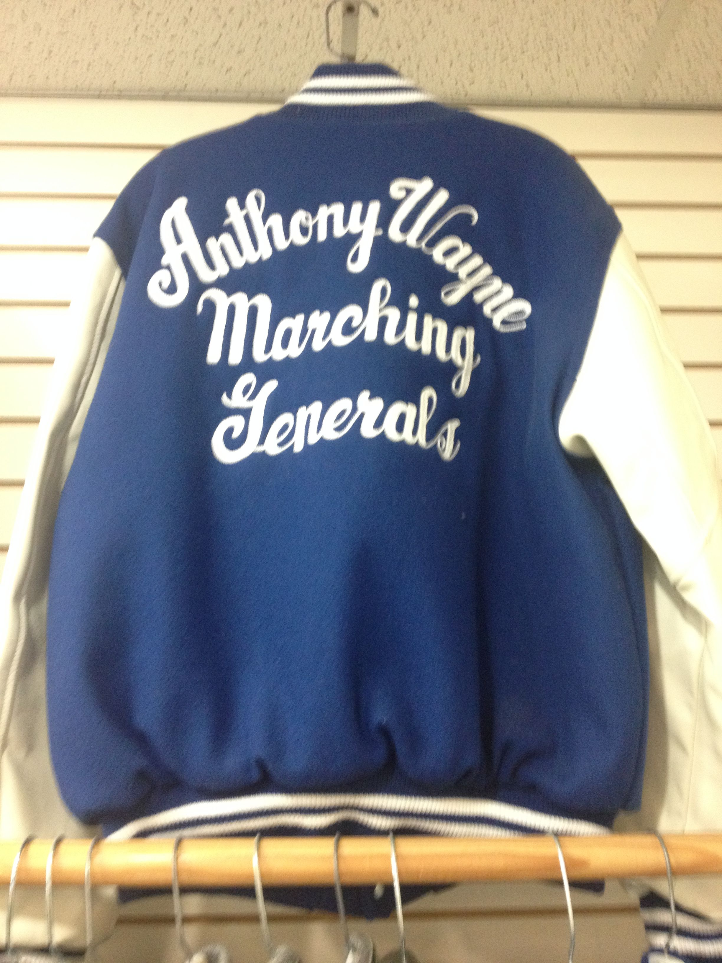 Anthony Wayne Varsity Jacket Dan Rodgers Sporting Goods