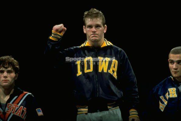 Top Ten Hawkeye Wrestlers Tom Brands Wrestler Wrestling