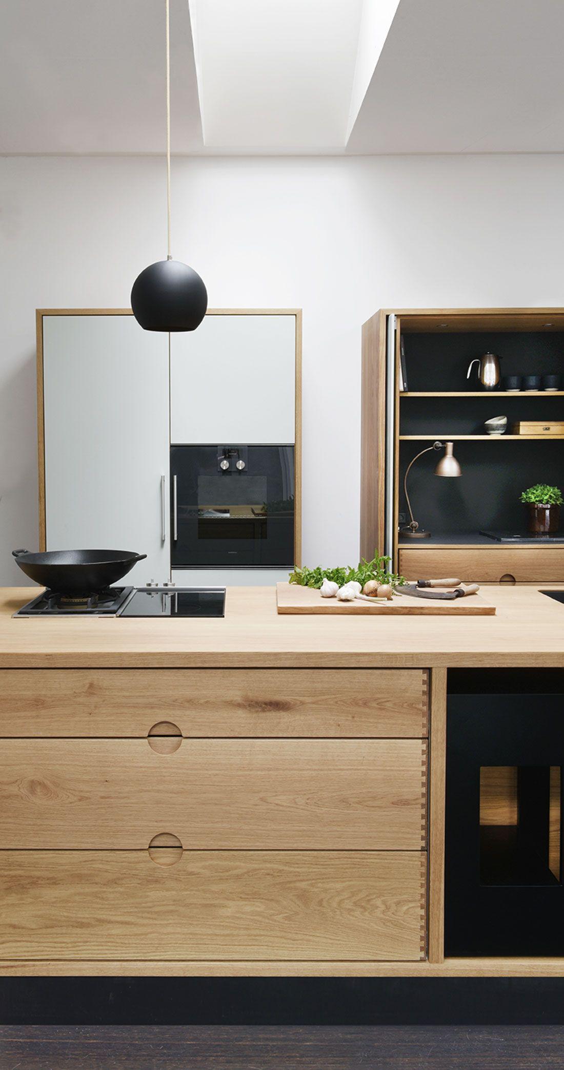 koekken med fransk doer og stuk   kitchens   Pinterest   Cocinas ...