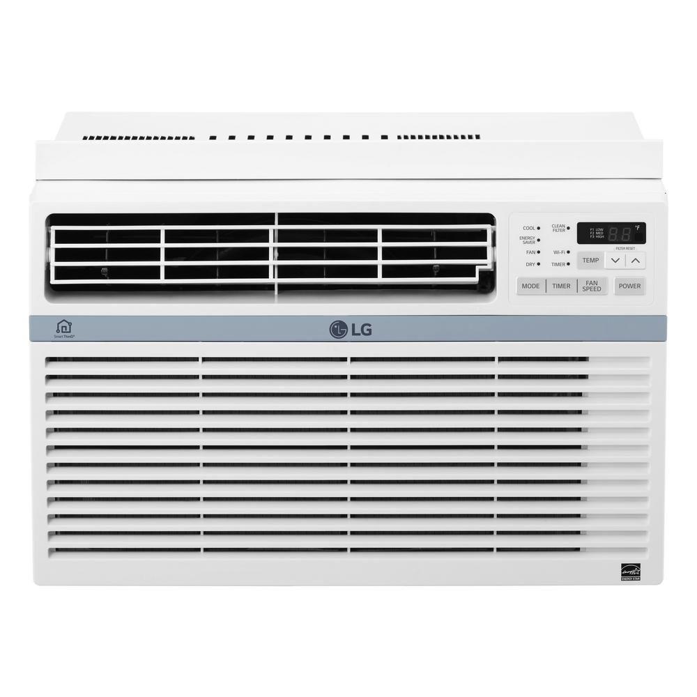 Lg electronics 12000 btu window smart wifi air