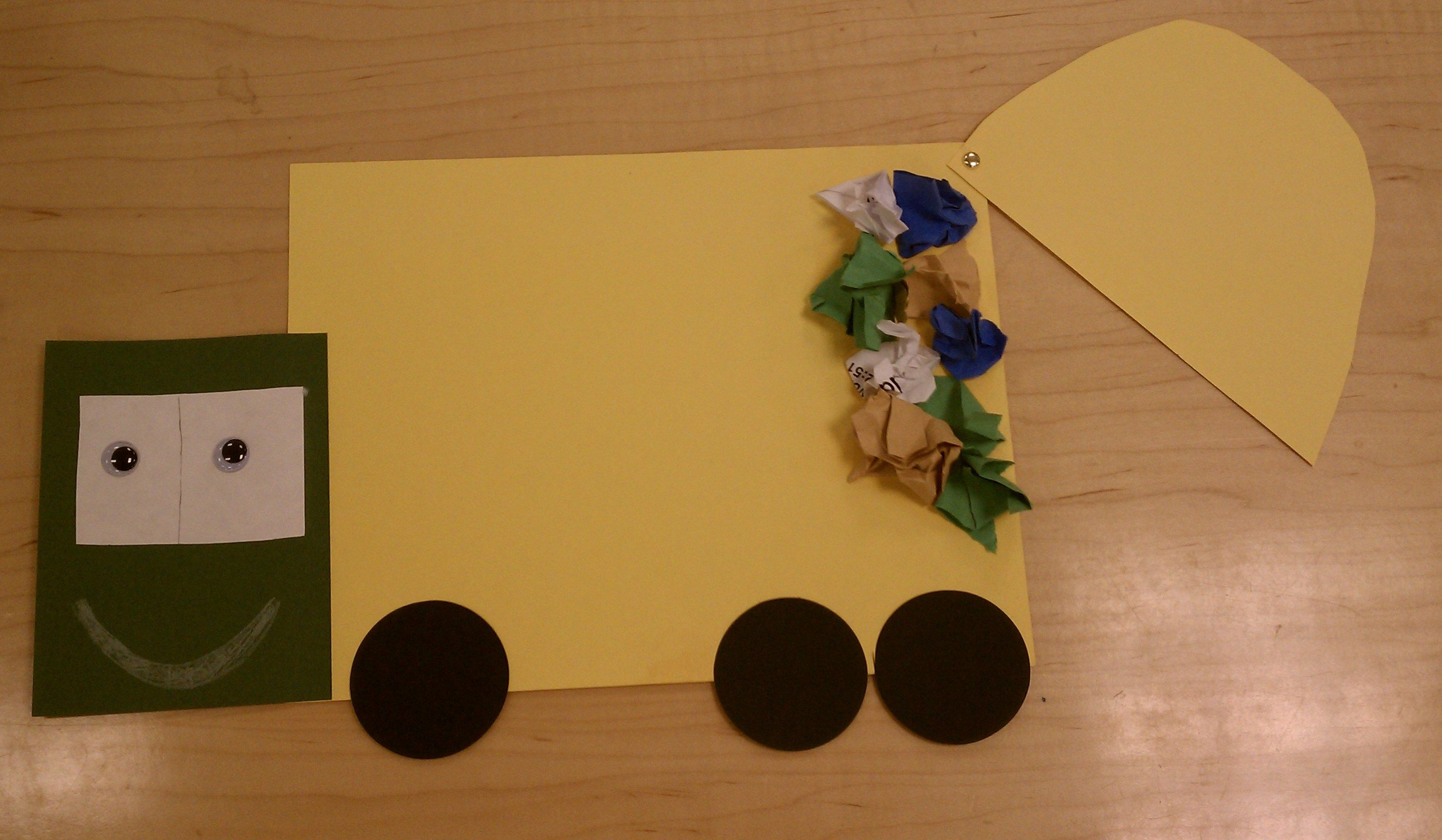 Garbage Truck Created After Reading I Stink By Kate