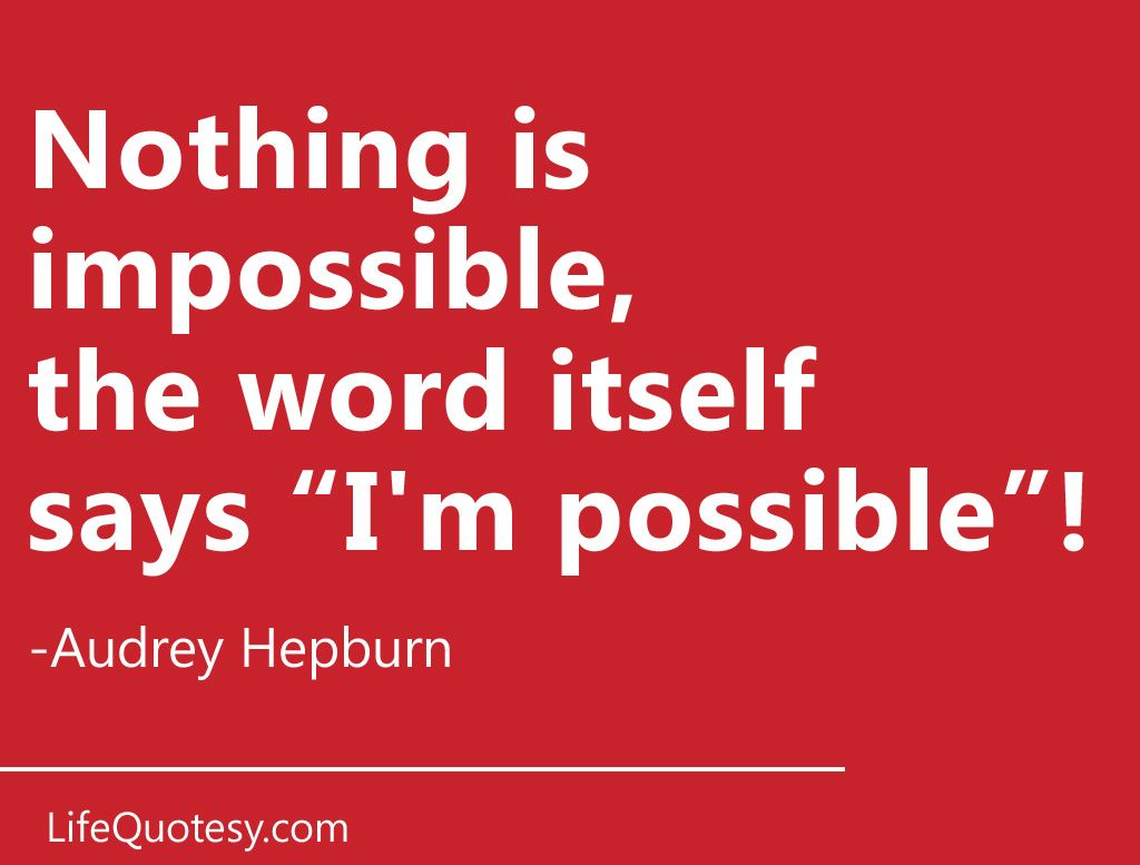 Great Quotations Inspirational Quoteaudrey Hepburnsend This As An Ecard