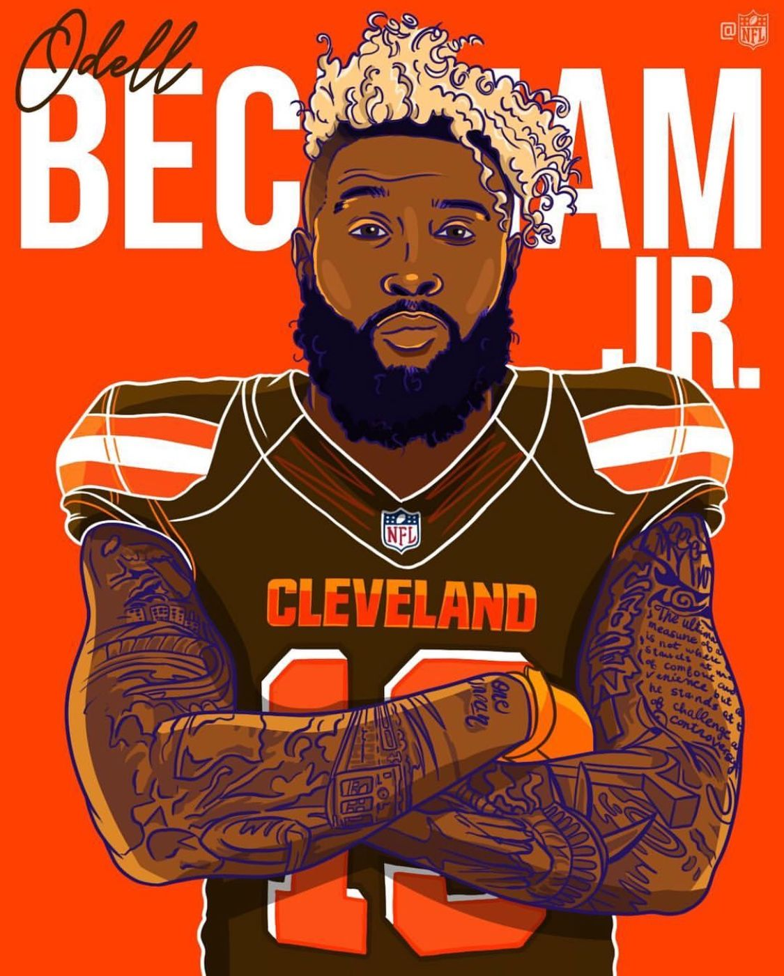 Are you serious!!?? Wow what a move for Cleveland. Odell