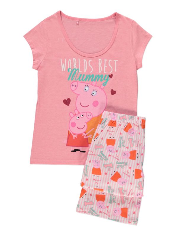 Ideal for Beach or Pyjamas Peppa Pig Summer 2 Piece Set Official Merchandise