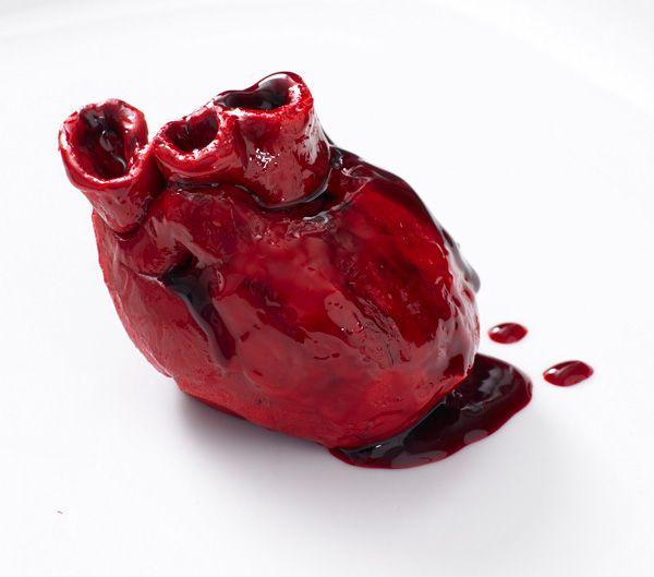 The Bleeding Heart Cake