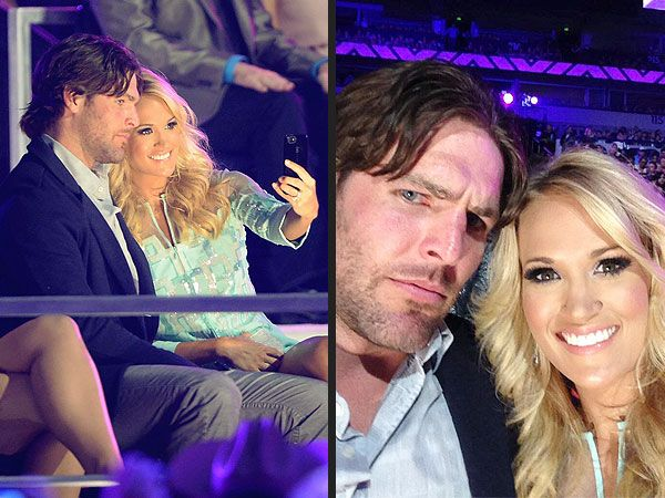 Carrie Underwood & Mike Fisher: 4 Happy Years in Photos| Couples, Carrie Underwood