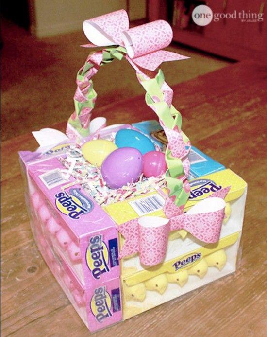 Edible easter basket easter pinterest easter baskets and easter edible easter basket negle Images