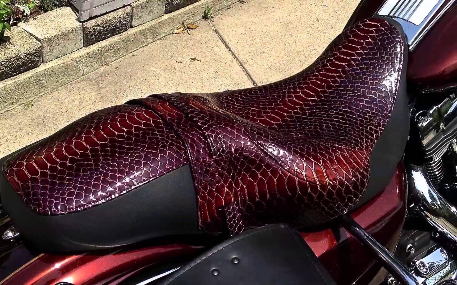 963f6c3a Harley Custom Leather Seats. - YouTube | cool stuff | Custom harleys ...