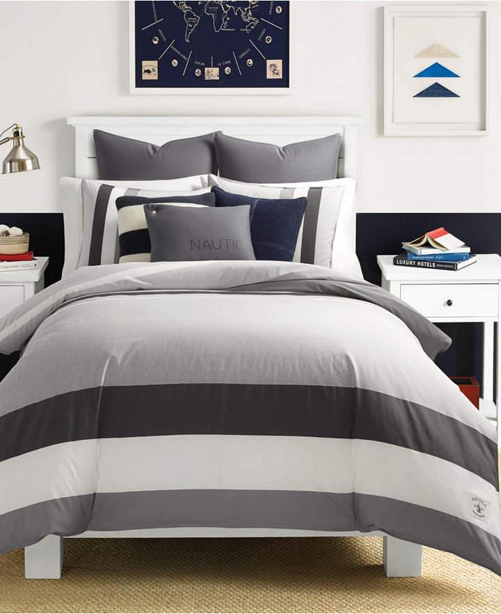 Nautica Heritage Signal Stripe Twin Comforter Set Bedding