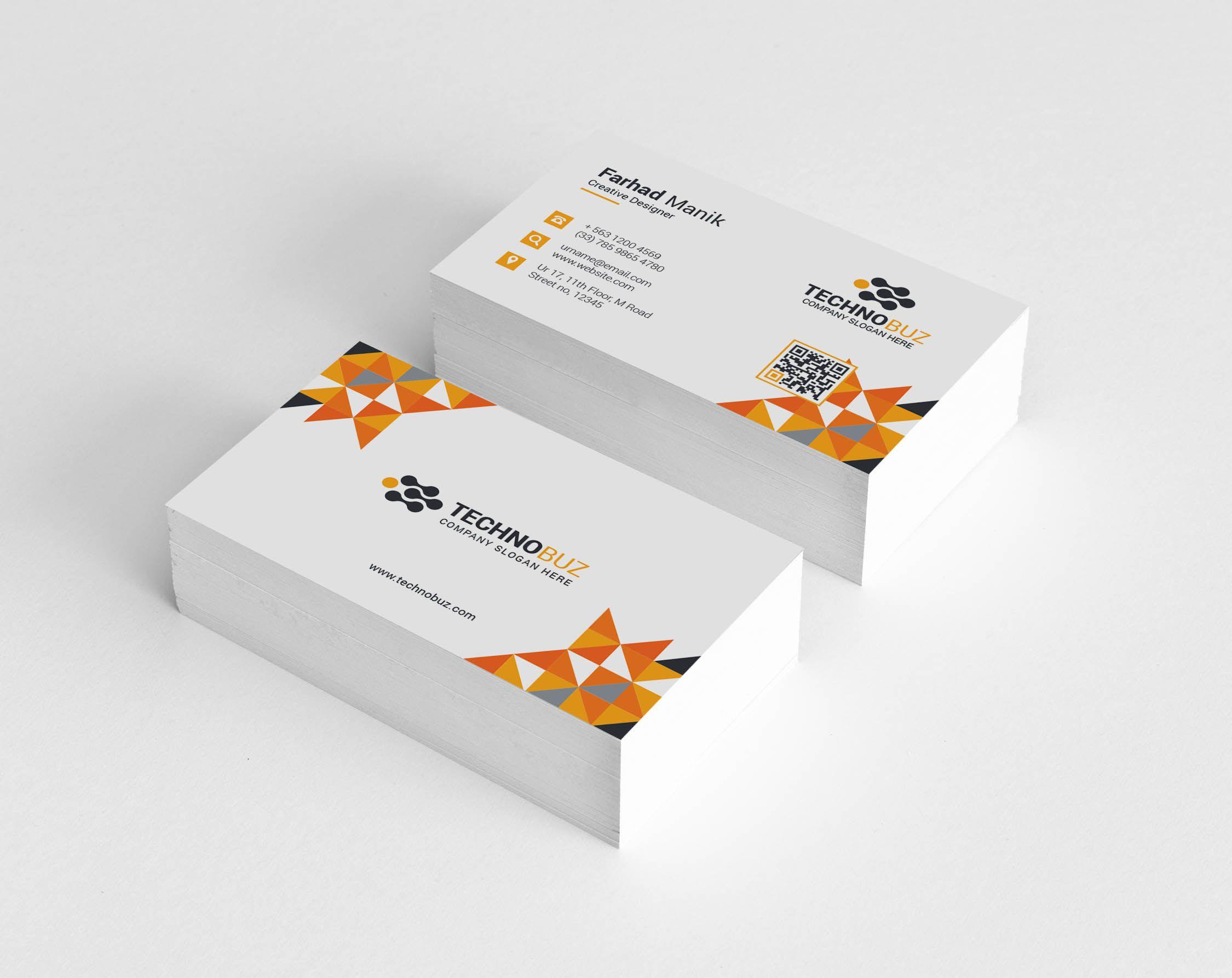 Hesperus Creative Corporate Business Card Template Graphic Templates Business Card Template Photoshop Company Business Cards Corporate Business Card
