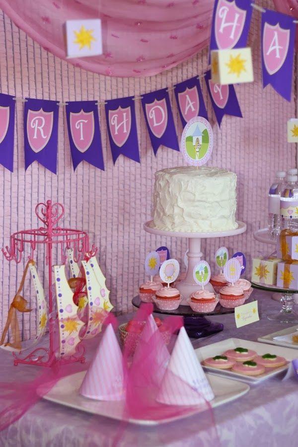 Idias Para Decorao Festa Rapunzel Enrolados Rapunzel