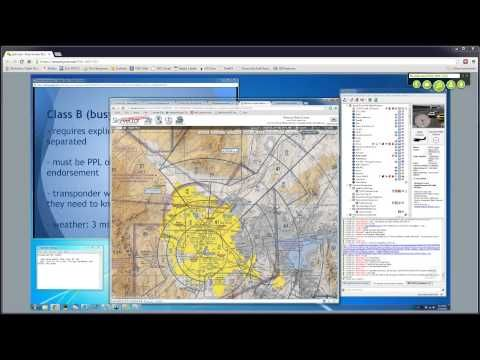 PilotEdge Workshop 1 - VFR airspace and charts - YouTube | Airspace