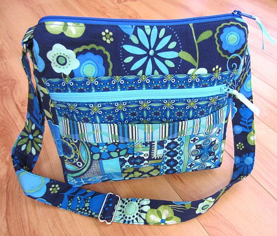My Easy Going Purse PDF Sewing Pattern Tutorial for Messenger Bag ...
