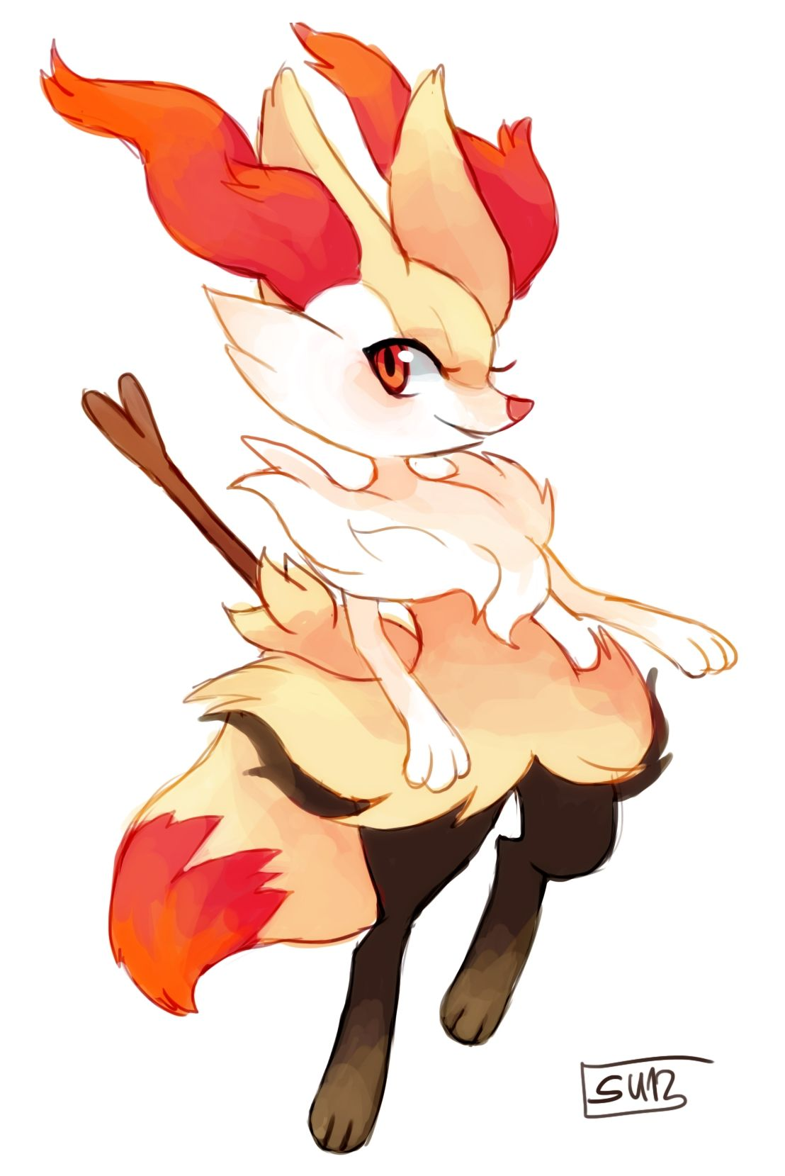Haircut styles in pokemon sun and moon braixen  pokemon  pinterest  pokémon anime and video games