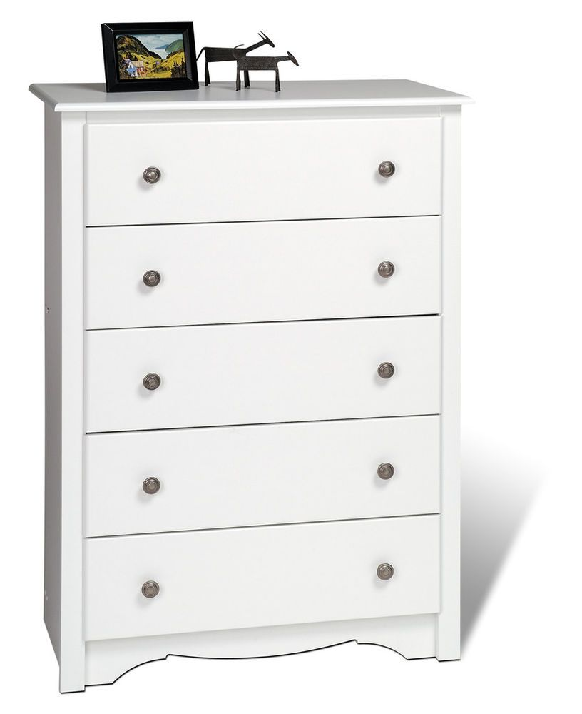Prepac Bedroom Furniture Wdc3345k Pp Monterey Storage Bedroom Sturdy Drawer Prepac White