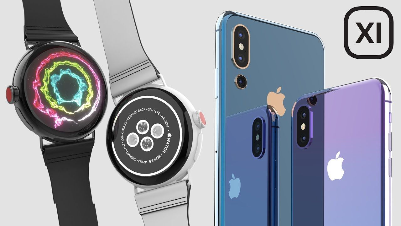 5220eb2b655 Exciting iPhone 11 Leaks & Round Apple Watch! | Wearables | Iphone ...