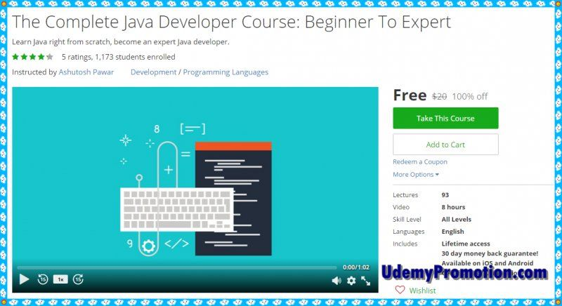 100 free udemy coupon the complete java developer course beginner 100 free udemy coupon the complete java developer course beginner to expert fandeluxe Image collections
