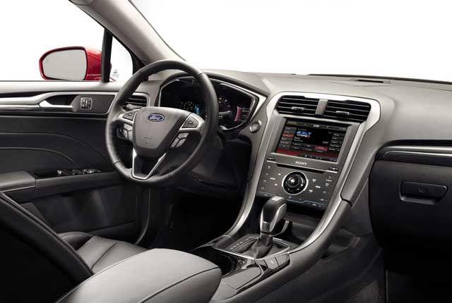 2013 ford fusion titanium interior picture