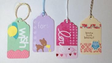 Gift Tag Inspiration!