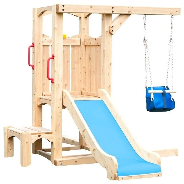 Pin By Jeannie Ingram On Pallet Furniture Outdoor Toddler Swing Set Small Swing Sets Toddler Swing