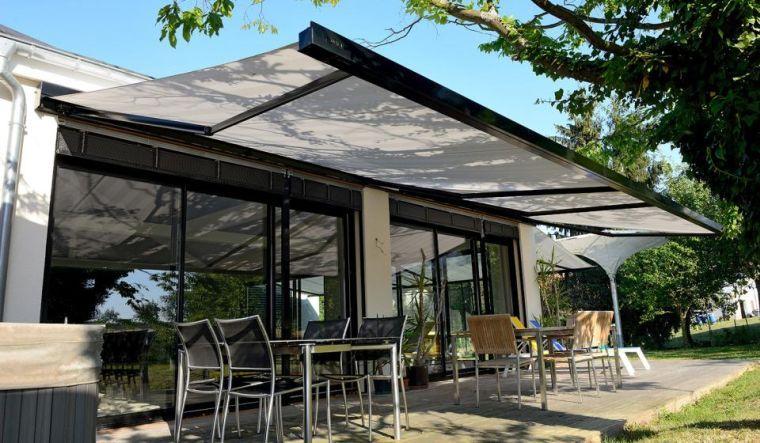 What Terrace Shelter For Your Outside Discover Our Trend Ideas Furniture Design Decoration Patio Luifel Patio Pergola Patio