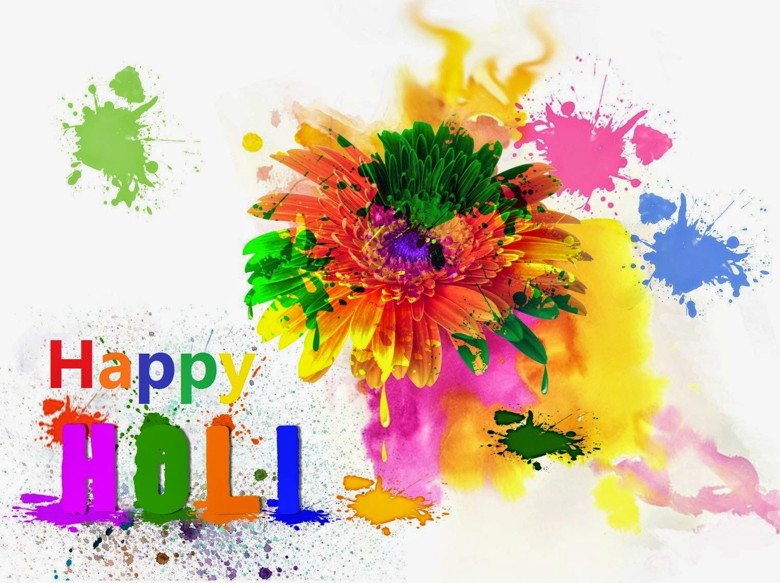 Happy Holi Free Wallpaper Happy Holi Full Hd Wallpaper Download
