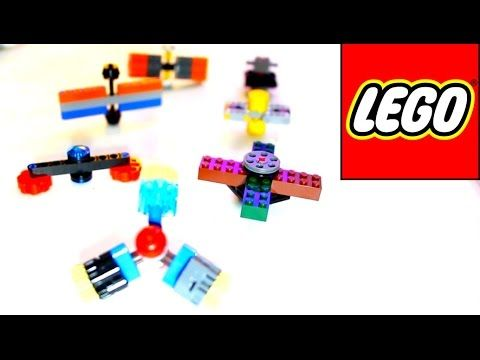LEGO Spinner Fid Toy Tutorial How to Make 5 Different Hand