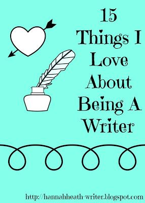 15 Things I Love About Being a Writer - from problem solving to having an excuse to be weird, writing has a lot of perks. What are some of your favorite? Feel free to join in this blog tag!