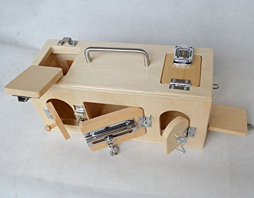 Montessori Lock Box Memory Game - 10 Doors Unknown //.amazon : 10 doors game - pezcame.com
